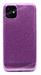 Чехол для iPhone 11 силиконовый, сиреневый блестки, Smile (SL)